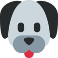 Twitter Dog Face Emoji