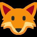 Twitter Fox Face Emoji