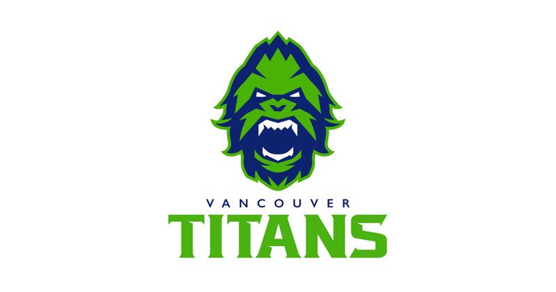 Vancouver Titans (OWL) Logo