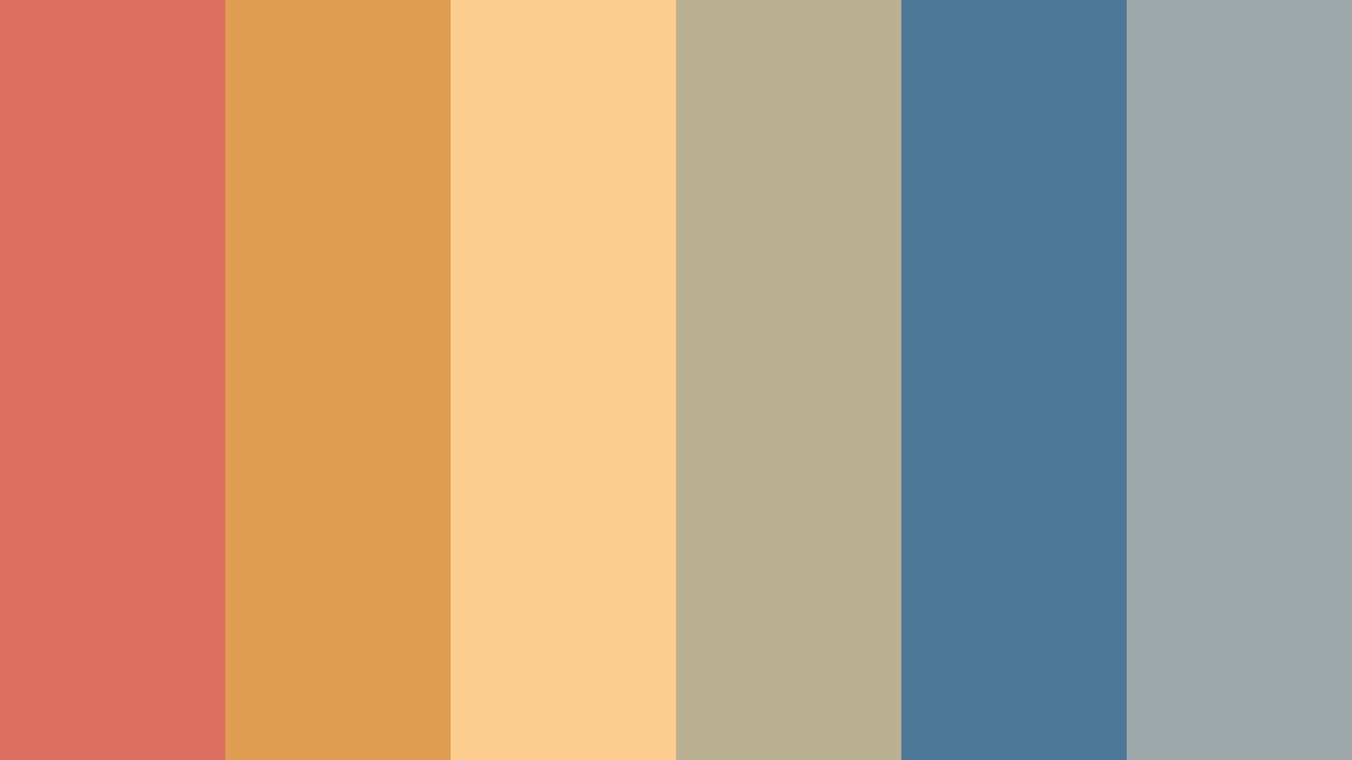 Vintage Summer Color Palette - Wallpaper