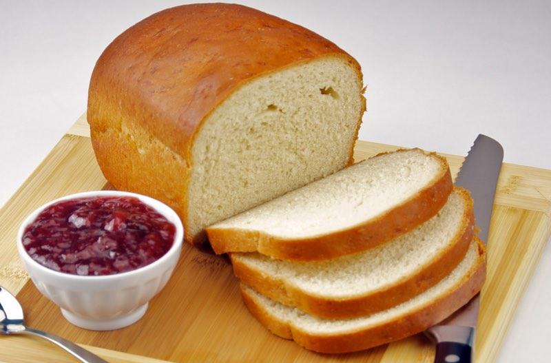 White bread colors