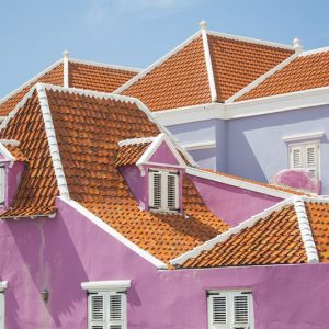 Willemstad Curacao House Color Combination