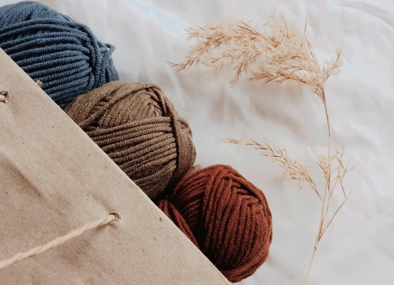 Yarn for winter - dull colors