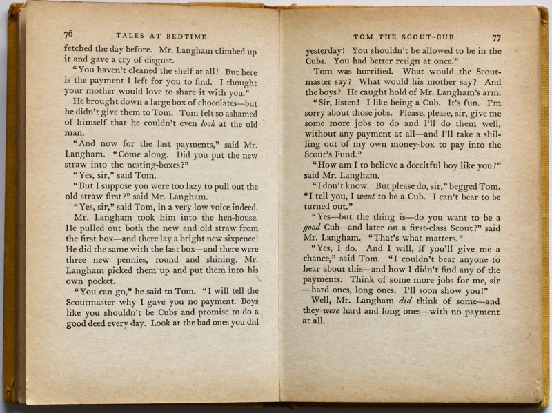 Yellowed Book